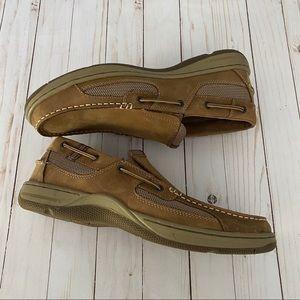 BASS Baron boater III slip on wide width boat shoe